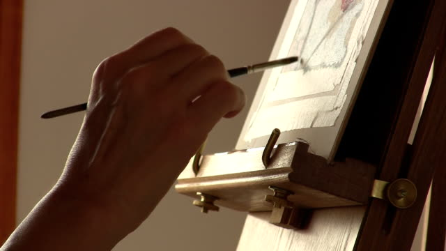 Hand paint video