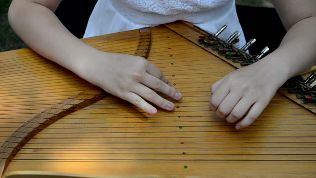 hand play baltic psaltery video