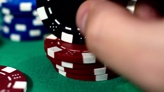 Hand Recounts Poker Chips video