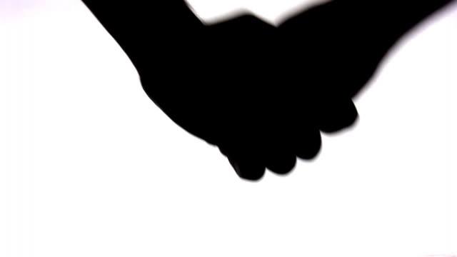 Hand shake video