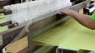 Hand_made_silk_weaving_Full HD video