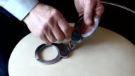 Handcuffs. video