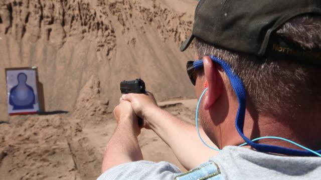Handgun Target Practice video