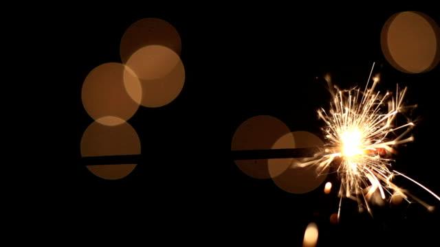Handheld sparkler video