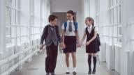 Handicap Boy Feeling Lonely in School video