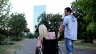 Handiccaped Couple. video