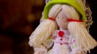 handmade doll video