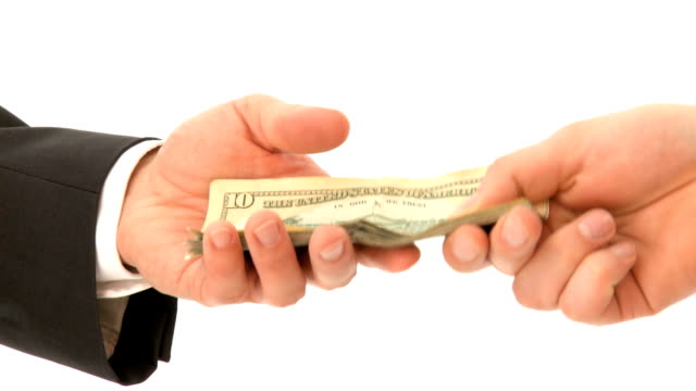 Hand-over of Money video