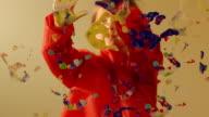 Handprint painting video