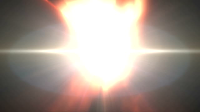 Hands of Light Opening with Rays. HD video