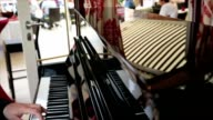 Hands of pianist video