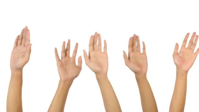 Hands raise video
