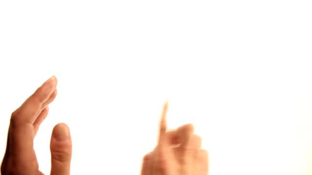 Hands: scrolling gestures video