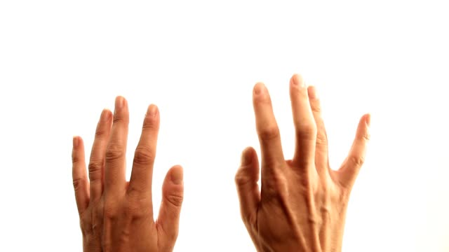 Hands: typing video