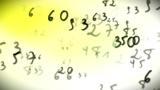 Handwriting Numbers Bright video