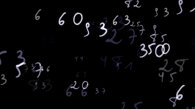 Handwriting Numbers video