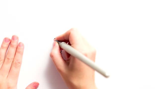 Handwriting video