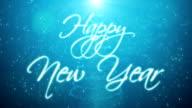 Handwritten Happy New Year video