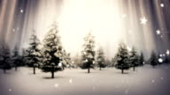 Handwritten Happy New Year | Winter Landscape video