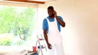 Handyman Taking a Break video