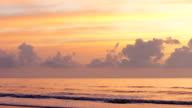 Hangar Beach at Sunrise in Florida video