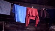 Hanging cloth (HD) video