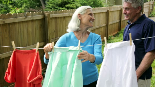Hanging Clothes to Dry video