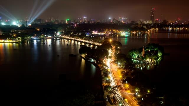 Hanoi Vietnam Time Lapse Ho Tay video