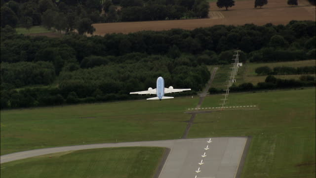 Hanover Airport  - Aerial View - Lower Saxony,  Germany video