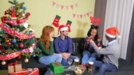 Happiness and joy for Christmas video