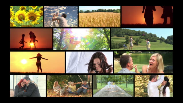 HD MONTAGE: Happiness video