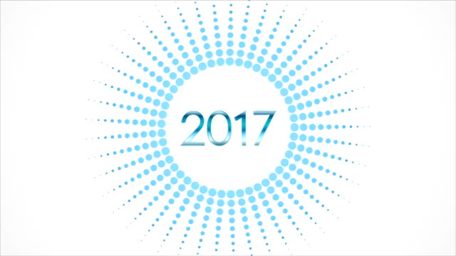 Happy 2017 New Year video animation video