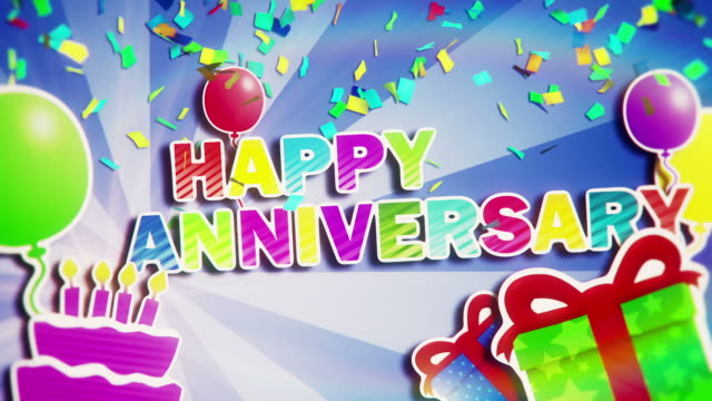 Happy Anniversary video