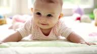 Happy baby video