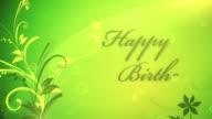 Happy Birthday - Loop video