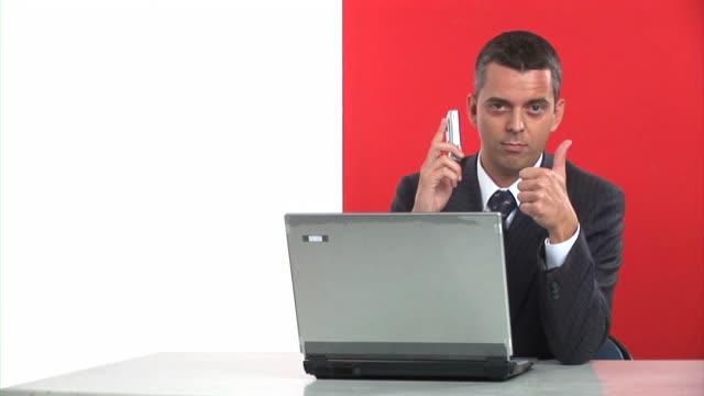 HD: Happy Businessman video