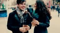 Happy Couple Outdoors video