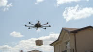 Happy Customers Received Order by Drone video