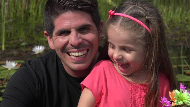 Happy Divorced Father And Daughter video