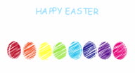 Happy Easter - different languages video