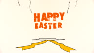 Happy Easter greeting video