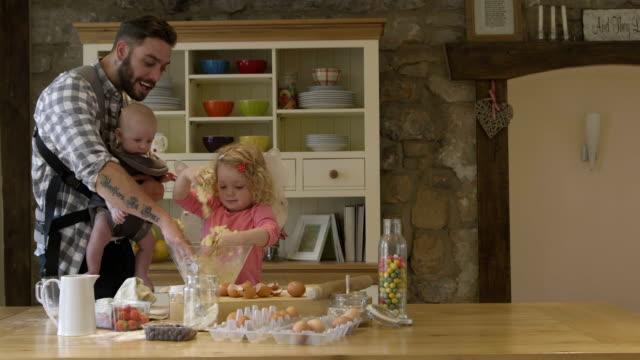 Happy Family Baking video