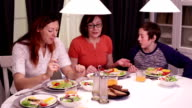 Happy Family lunch video