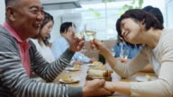 Happy Family Meal in Japanese Home video