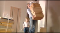 happy family moves into a new apartment 2 video