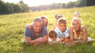 Happy family. video