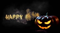 Happy Halloween animation video