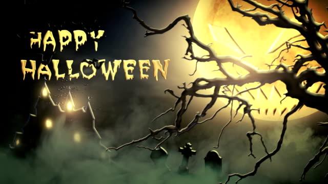 Happy Halloween (green) - Loop video