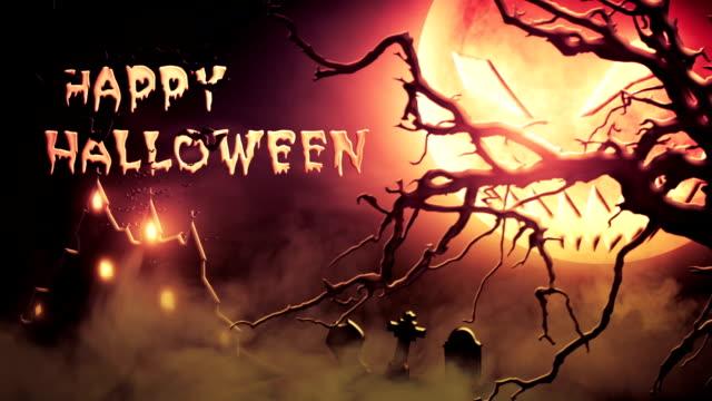 Happy Halloween (red) - Loop video
