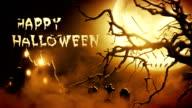 Happy Halloween (orange) - Loop video
